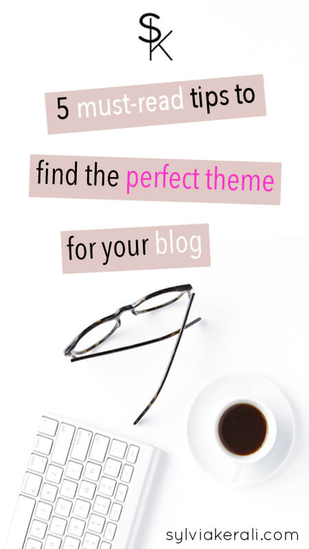 how to find a theme for your blog