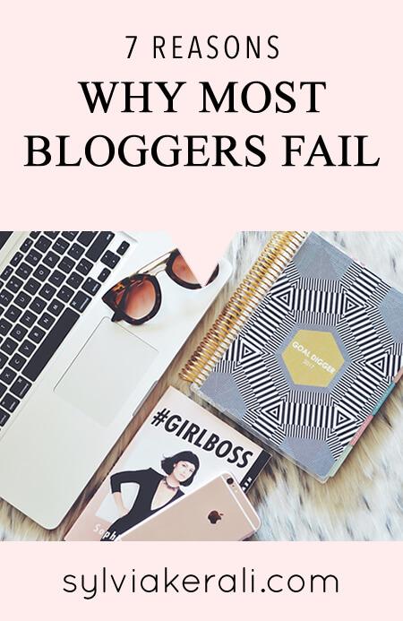 reasons why blogs fail