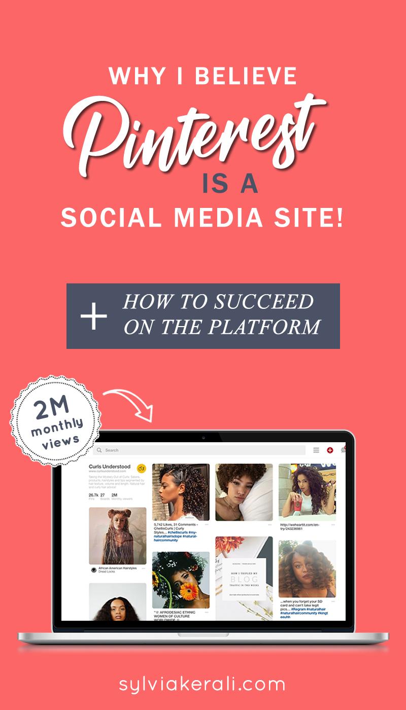 is pinterest a social media site